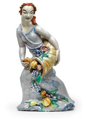 "Dina Khun "" Demetra"" anni 30' h. 61 cm."