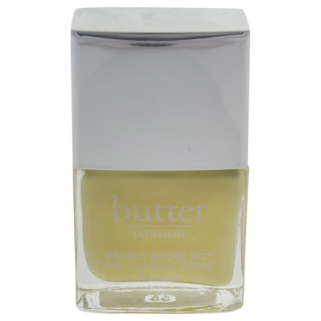 (Yellow) London Patent Shine 10X Nail Lacquer Lemon Drop (1)