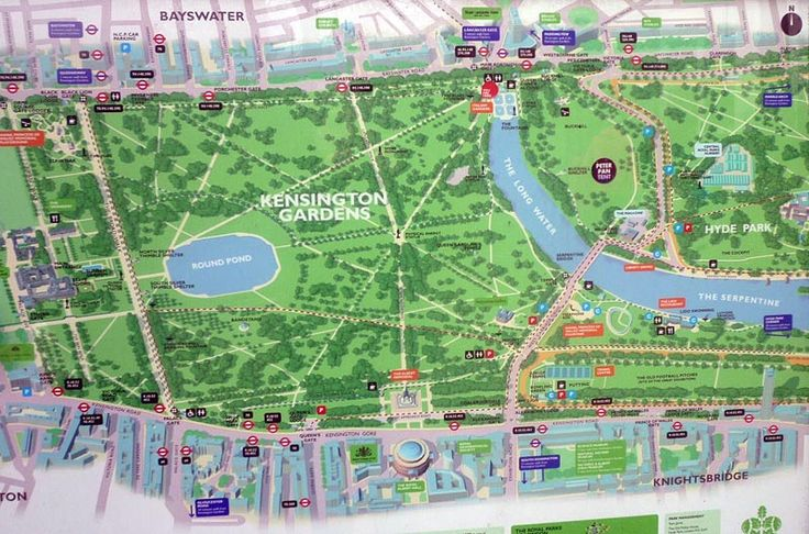 Kensington Garden map | The Lost Young Womens' Society ...