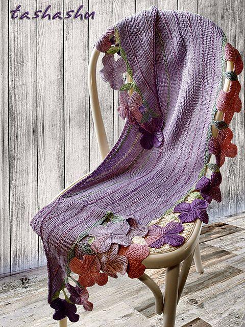 Ravelry: Provence Shawl pattern by Svetlana Gordon
