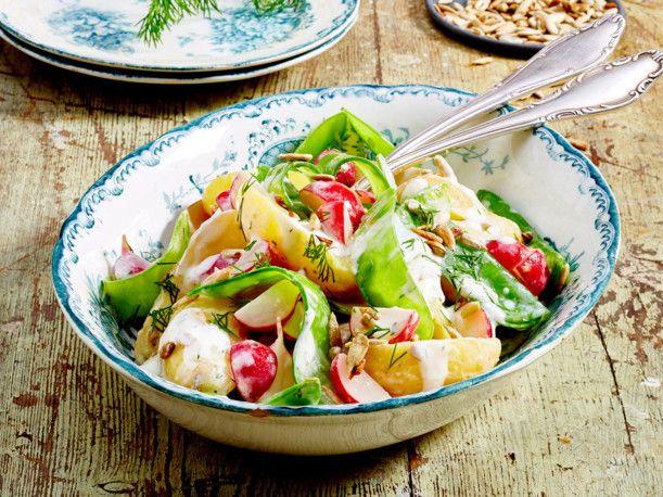 Unser beliebtes Rezept für Kartoffelsalat mit Dill und Meerrettich und mehr als 55.000 weitere kostenlose Rezepte auf LECKER.de.