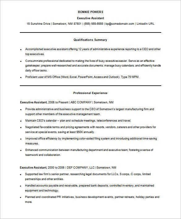 Administrative Assistant Functional Resume Enchanting Sample Functional Resume Template Free  A Successful Resume .