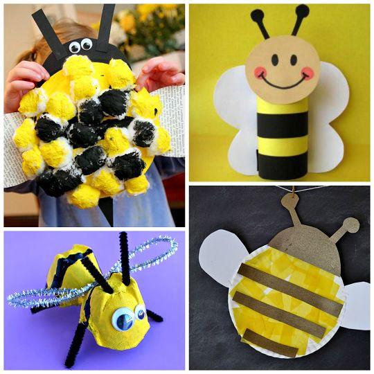 Honeypot Preschool: Buzzworthy Bee Crafts For Kids To Make
