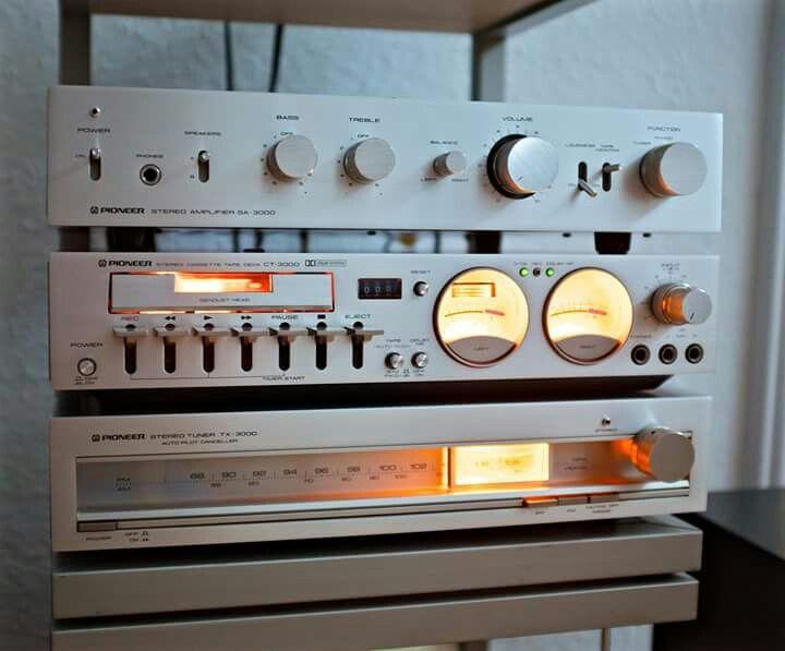 Vintage Pioneer Amp, Tuner, Tape Deck