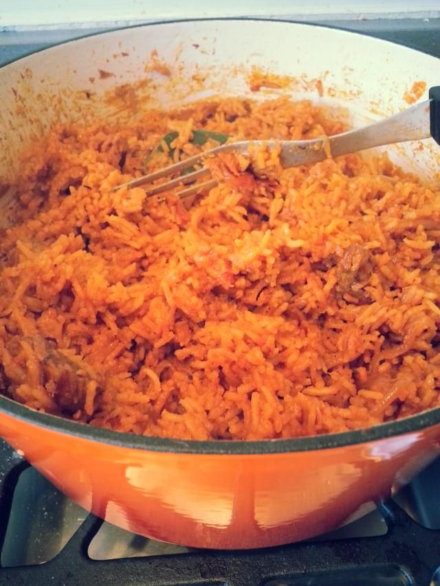 "10 ""must try"" recipes from Africa: Jollof Rice"