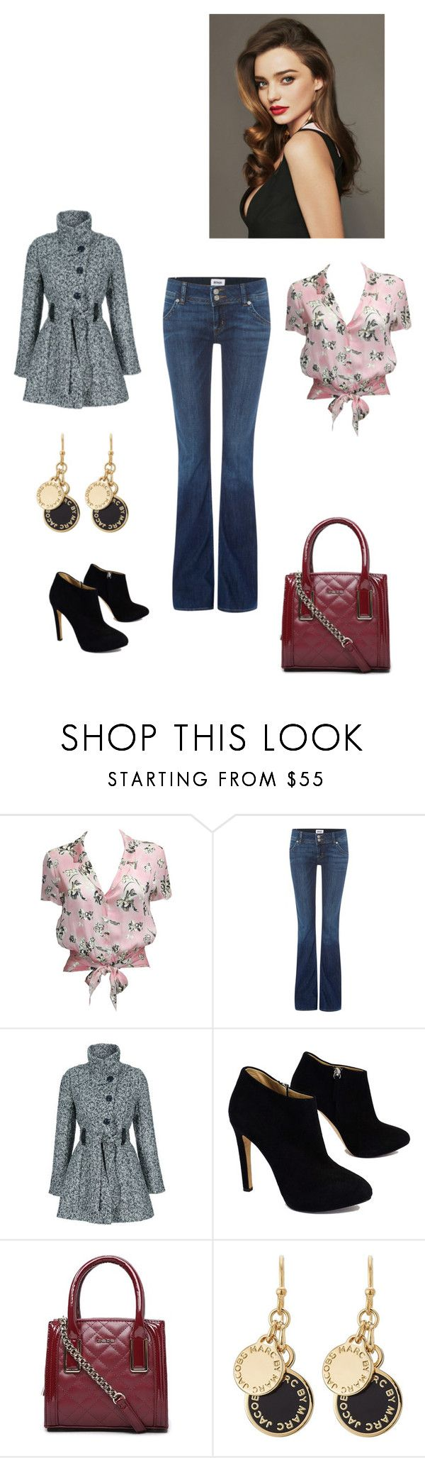"""weiblicher Stil"" by taniaazzini on Polyvore featuring moda, Chanel, Hudson Jeans, Giuseppe Zanotti, Bebe, Kerr® e Marc by Marc Jacobs"