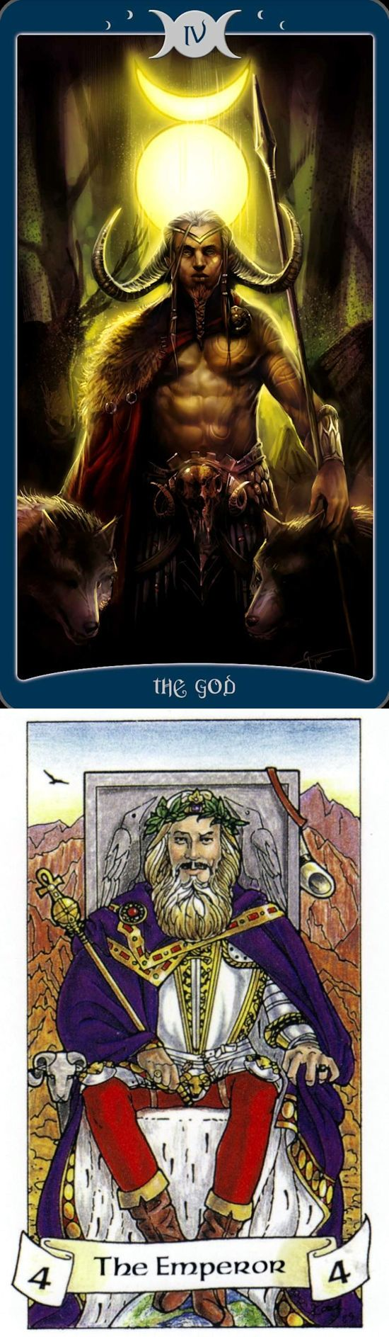 THE EMPEROR: father figure and too much control (reverse). Book Of Shadows Tarot deck and Robin Wood Tarot deck: free full tarot reading online, tarot today vs how to do a tarot card reading. New tarot art nouveau and wiccan spells. #pentacle #ritual # #halloween #altar #tarotspreads