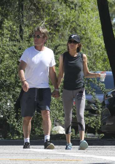 Celebrity PDA of 2017 - December 11, 2017:  Lisa Rinna and Harry Hamlin held hands as they went for a walk in Los Angeles on April 2.