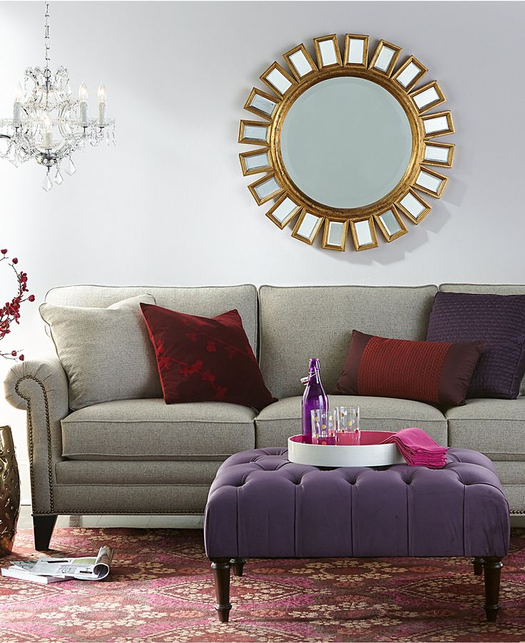 Scarlette Fabric Sofa Living Room Furniture Collection