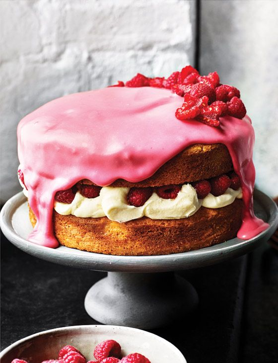 White chocolate, raspberry and rose cake recipe - the ultimate spring bake, this white chocolate cake recipe with raspberry icing was made for British tea time.