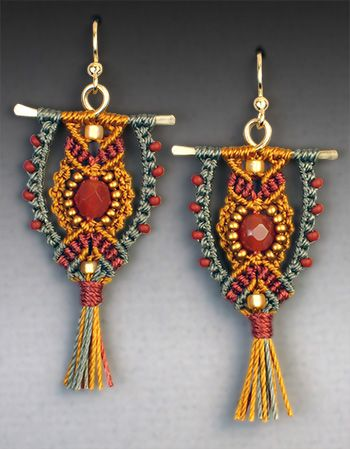 Micro Macrame Earring Patterns | 26 00 click the add to cart button above to pay online with