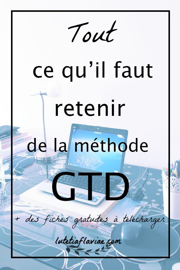 La méthode #GTD expliquée de manière simple et pratique pour mieux s'organiser au quotidien. Une vidéo + 1 PDF résumé à télécharger sur lutetiaflaviae.com/methode-gtd ! Ne perdez plus votre temps ! #GettingThingsDone