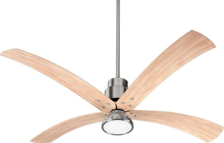 17 best images about interior fans on pinterest the muse portable fan and ceilings - Curved blade ceiling fan ...