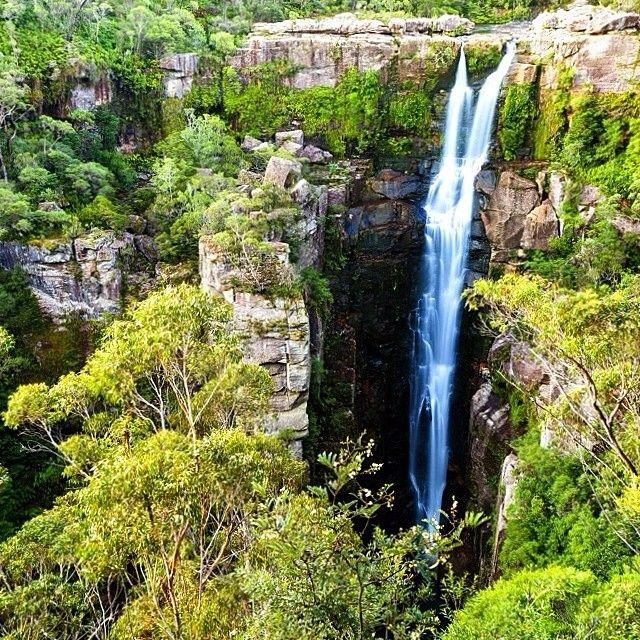 With its cascades, waterholes and rockpools, Carrington Falls on the South Coast of NSW is a beautiful spot to visit for bushwalking, a picnic or simply to take in the view. Instagram photo by @australia (Australia) | Iconosquare