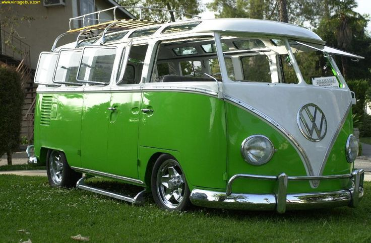 I think it would be really cool to find one of these to for 14 window vw bus