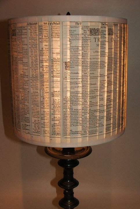 Let's get sophisticated DIY lamp shade