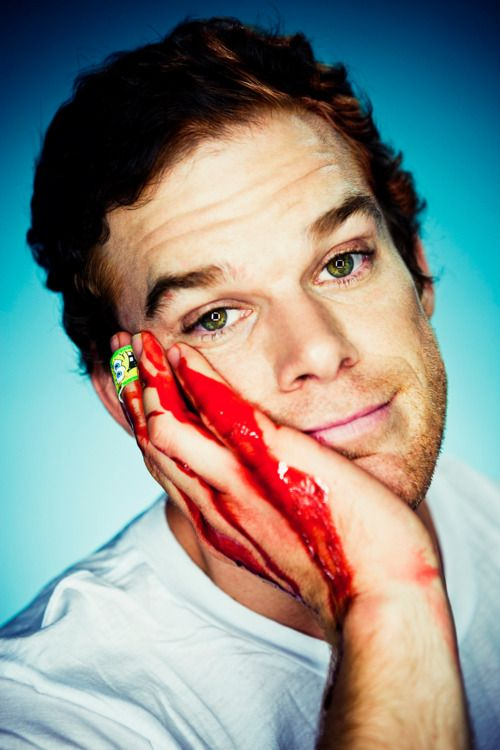 Michael C Hall - Has this incredibly sexy vibe that I can never put my finger on.. But my god do I love Dexter.