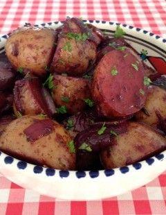 Aardappeletjes met rode wijn | Het lekkerste recept vind je op AllesOverItaliaansEten