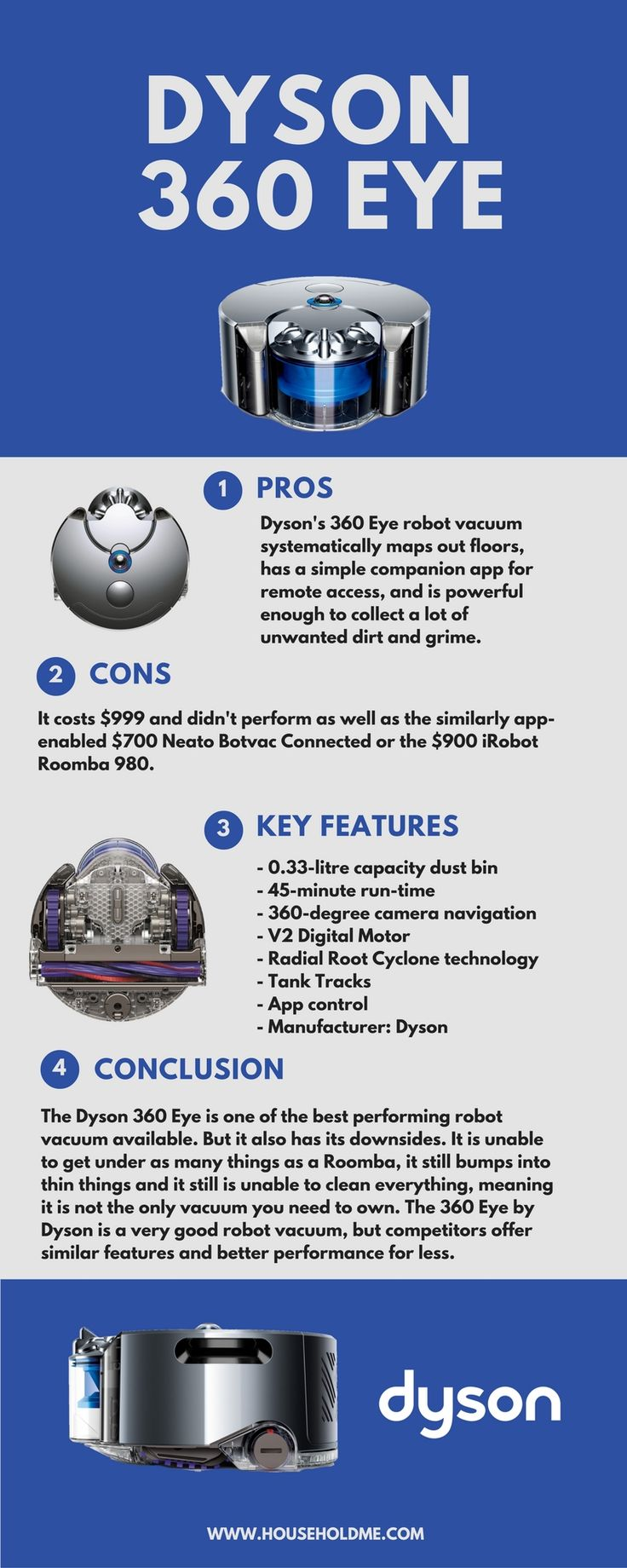 dyson 360 eye infographic on sale now amazon httpamznto - Dyson Vacuum Sale