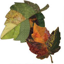 Natural Inspiration Leaf Bowls Pattern and Fusible Interfacing