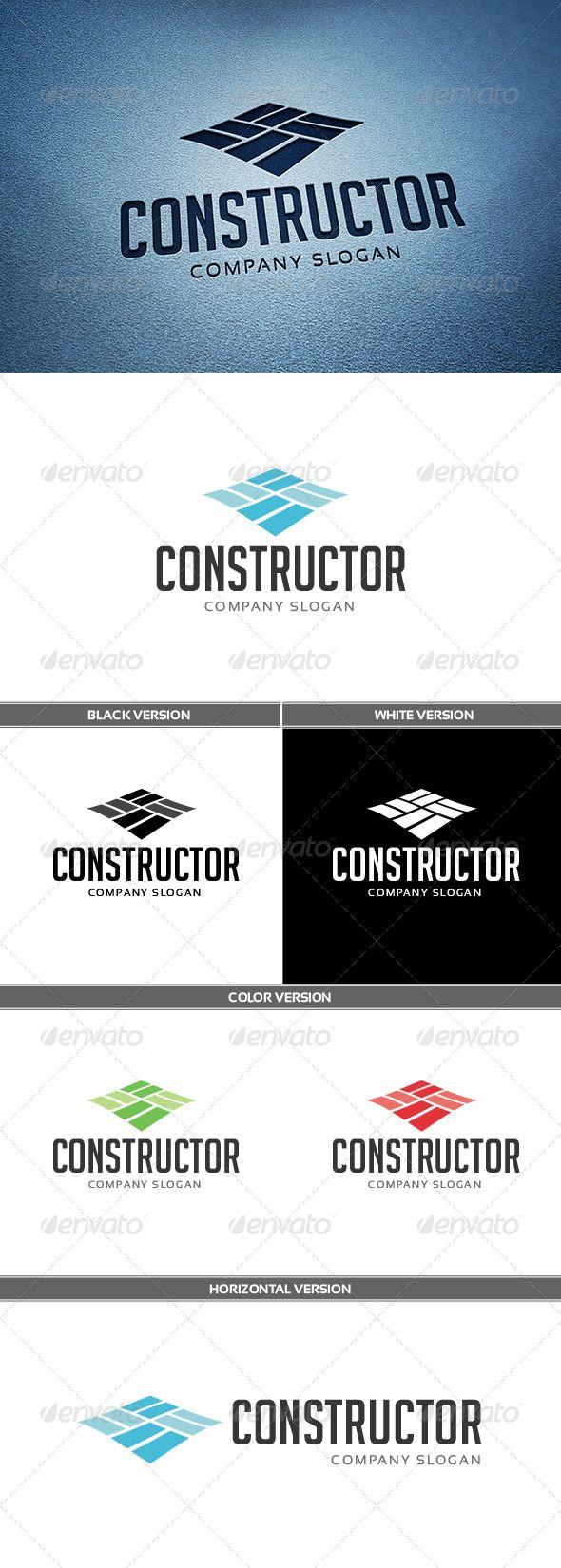 Constructor Logo - Abstract Logo Templates
