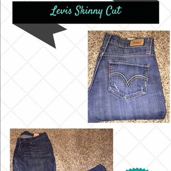 Levis  Skinny JeansLOWEST PRICE Medium Wash skinny Jeans. Excellent condition. No holes, rips,stains or other damage. All items come from a pet free/smoke free home. I offer discounts on bundles and entertain reasonable offers. Not interested in trading. Happy Poshing! Levi's Jeans Skinny