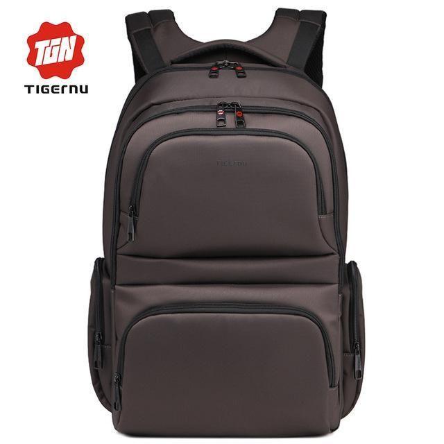 2017 New Tigernu Brand Waterproof Nylon Unisex 15.6 Laptop Notebook Backpack