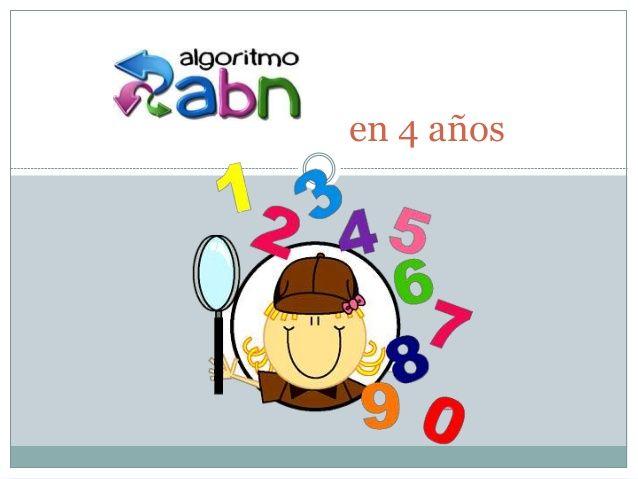 Infantil y Primaria: Metodología ABN con 4 años.