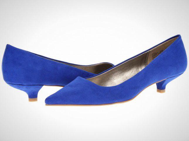 Kitten Heel  Cobalt Blue Kitten Heel Shoes