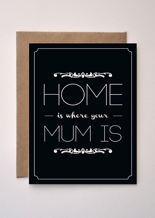 Home - Mothers Day Greeting card