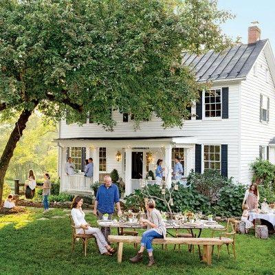 Virginia Farmhouse Summer Party