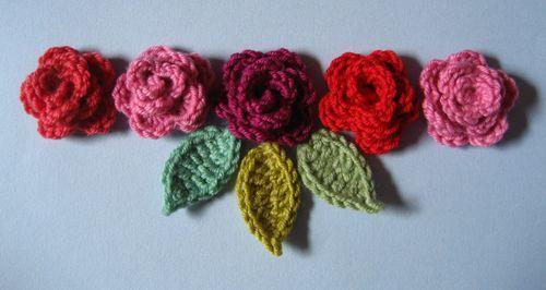 Rosy Crochet - pattern? - Wonderful site