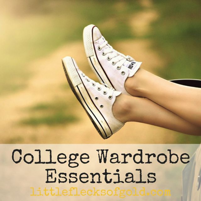 College Wardrobe Essentials | Little Flecks of Gold