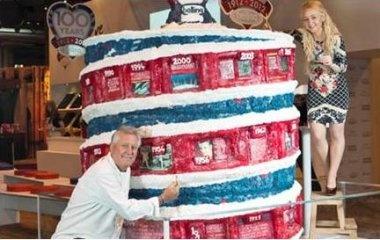Interactive Celebration Cake #belling100years #socialmedia