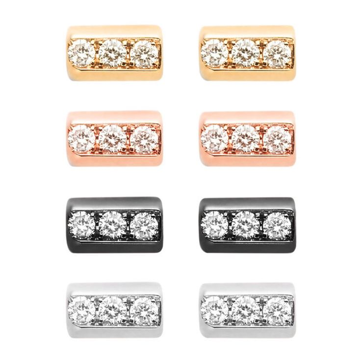 Which are your favorite #MelissaKayeJewelry Beth #earrings for this holiday season #18k #gold with #diamonds #yellowgold #pinkgold #blackgold #whitegold #fashion #style #studs #MKJHoliday