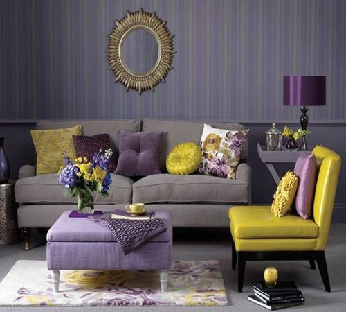 Complementary Color Scheme Room: POPS Of BOLD Colours ! Images On