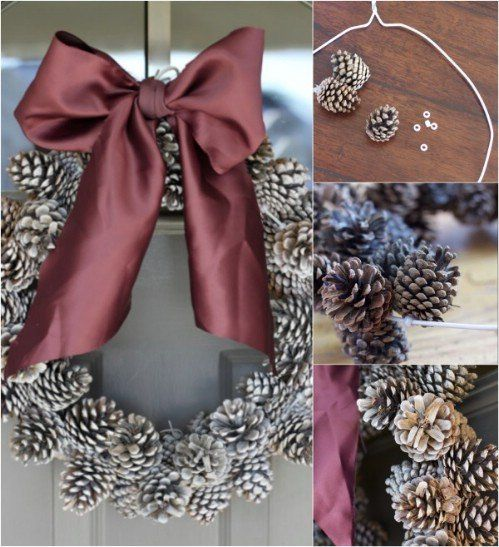 10 Genius DIY Ways to Transform Pinecones into Holiday Decorations - DIY & Crafts: