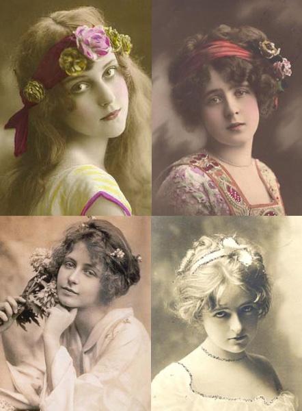 Elegant Victorian Hair Styles Era HairstylesVintage Wedding