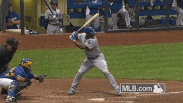 At least this highlight from last nights game exist, via the Dodgers on tumblr.  Watch Puig's check-swing broken bat.