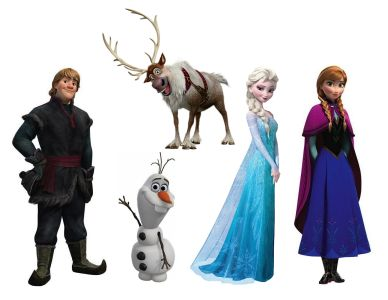 Frozen Characters Large Coisas Para Usar Pinterest