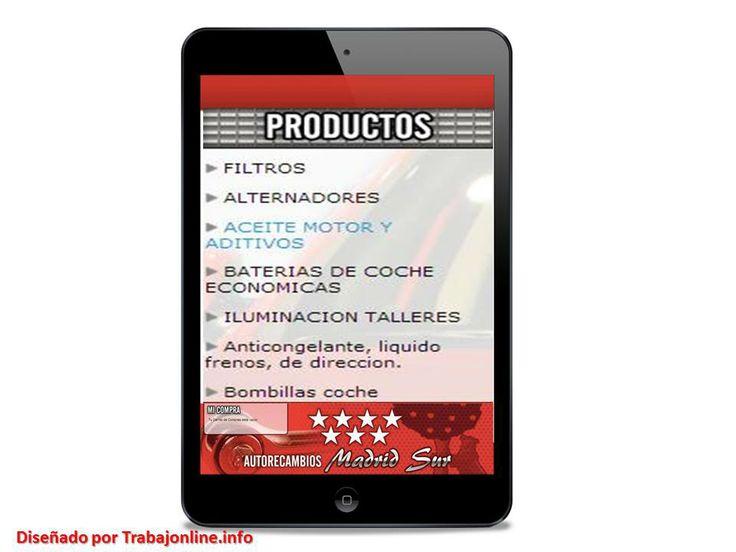 http://www.autorecambiosmadridsur.es/ Venta de repuestos y recambios de coche baratos en Madrid o via web. Somos especialistas en carroceria y mecanica. Tus repuestos originales a bajo coste