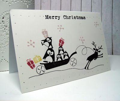 Scrapcolour: Kerstpost met Cats on Appletrees