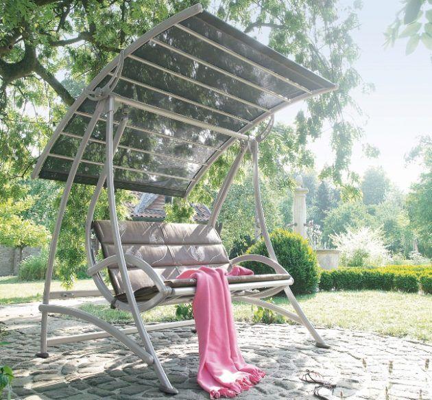 Luxury Toller gro er Schaukelstuhl von Kettler Gartenm bel f r den Sommer