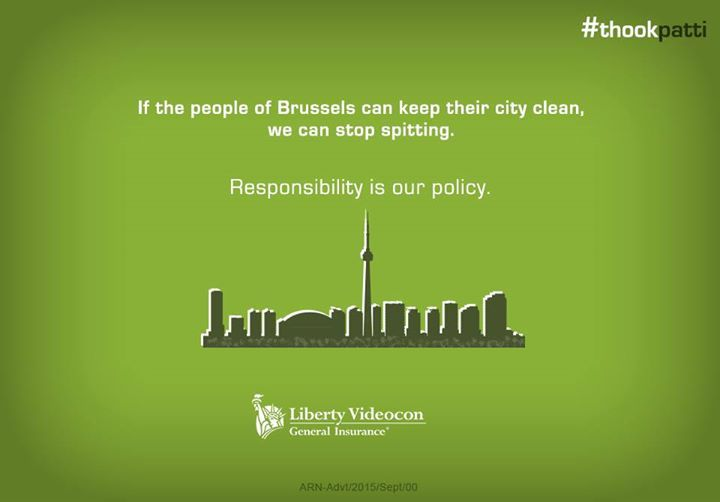 If Brussels can commit and succeed in keeping its city clean and healthy, we too can stop public spitting. #ThookPatti