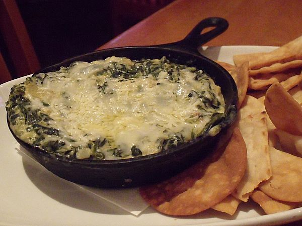 Spinach and Artichoke Dip at House of Blues Crossroads Restaurant at Downtown Disney - Anaheim, California