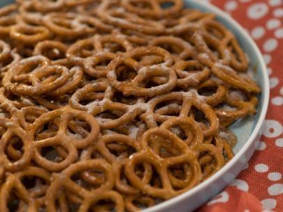 Cinnamon and Carmel Pretzel Chips Recipe | Food Network