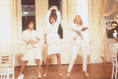 The First Wives Club -- Bette Midler, Goldie Hawn, and Diane Keaton.