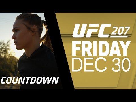 MMA UFC 207 Countdown: Amanda Nunes vs Ronda Rousey