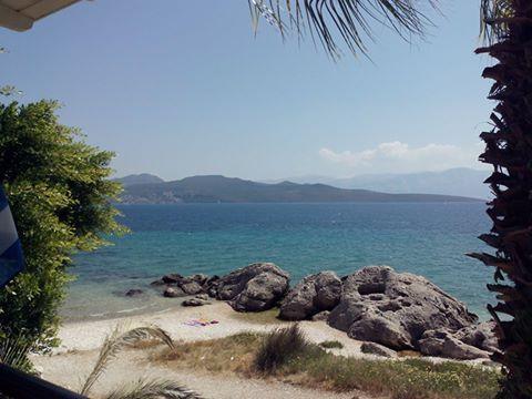 A quiet beach spot in Nikiana #lefkadaslowguite #lefkadazin #summer2016 #beach #sand