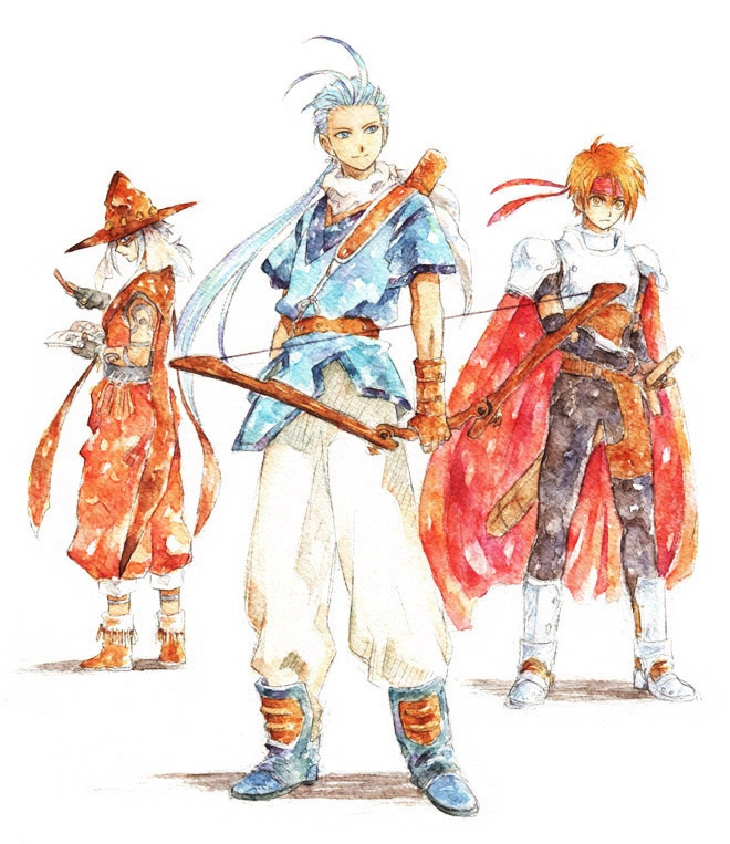 The men of Tales of Phantasia
